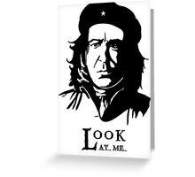 Che Snape - Fan Art Greeting Card