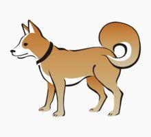 Cartoon Dog Baby Tee