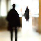 Blurred People by Ulf Buschmann
