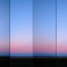 Lake George at Dusk - Polyptych by Kitsmumma