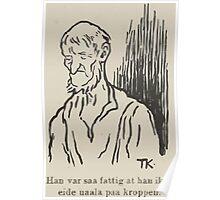 Theodor Kittelsen Per og Paal og Espen Askeladd Barne Eventyr1915p028 Poster