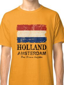 Holland Flag - Vintage Look Classic T-Shirt
