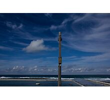 ocean baths blues Photographic Print