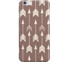Bohemian hand drawn arrows iPhone Case/Skin