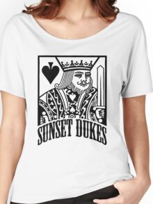 Sunset Dukes  Women's Relaxed Fit T-Shirt