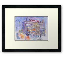 Granada TV Studios, Manchester Framed Print