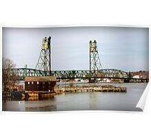 Portsmouth Memorial Bridge Poster