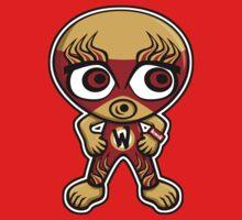 Wrestler Mascot by KawaiiPunk