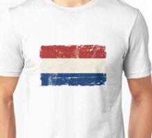 Holland Flag - Vintage Look Unisex T-Shirt