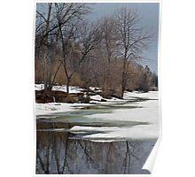 Spring Melt - Ottawa River Poster