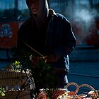 Savannah Street Vendor by Amy Lowe