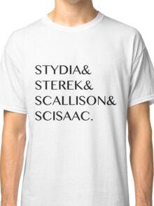 Teen Wolf Ships Classic T-Shirt