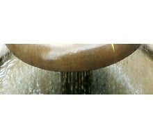 Running Water - Close Up Photographic Print