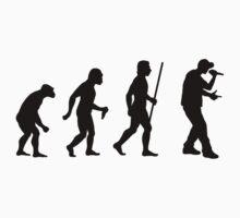 Evolution of Man and Rap Music by DesignMC