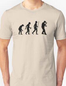 Evolution of Man and Rap Music T-Shirt