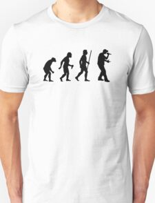 Evolution of Man and Rap Music T-Shirt