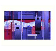 """Shining River""  Art Print"