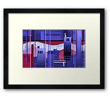 """""""Shining River""""  Framed Print"""