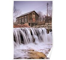 Abraham Erb's Grist Mill - 1816 Poster