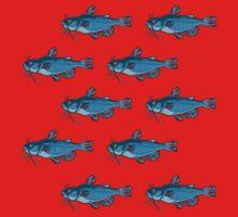 Fish pattern. Kids Tee