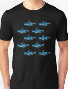 Fish pattern. T-Shirt