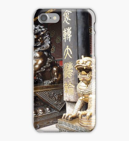 Chinese Temple iPhone Case/Skin