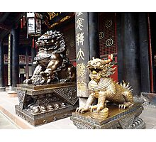 Chinese Temple Photographic Print