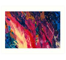 Abstract Explosiveness Art Print