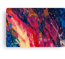 Abstract Explosiveness Canvas Print