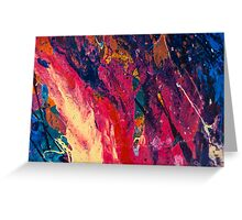 Abstract Explosiveness Greeting Card