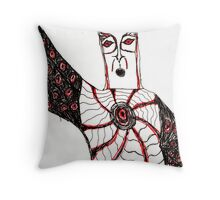 Zoltiltian (A mage and Malefactor) Throw Pillow
