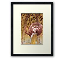 Forest of Angled Brains Framed Print