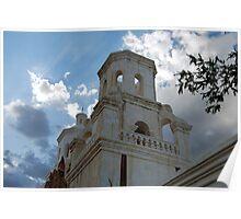 San Xavier Church Tower Poster