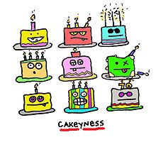 cakeyness by Ollie Brock