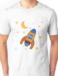 Space Rocket Unisex T-Shirt