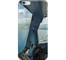 Approaching the airport iPhone Case/Skin
