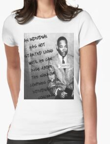 Martin Luther King Jr Womens Fitted T-Shirt