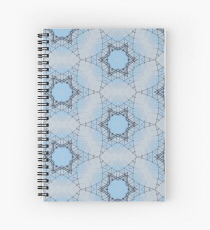 Barbed Wire Stars Spiral Notebook
