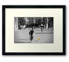 The Ball Framed Print