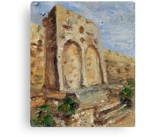 The Gates of Mercy and Truth Canvas Print