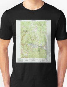 USGS Topo Map Oregon Lehman Springs 280503 1995 24000 Unisex T-Shirt