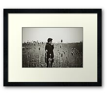 One Earth, One Soul Framed Print