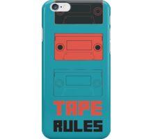Tape Rules iPhone Case/Skin