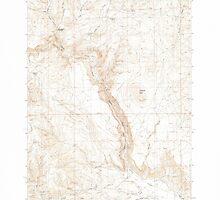 USGS Topo Map Oregon Becker Creek 278986 1990 24000 by wetdryvac