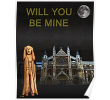 The Scream World Tour Westminster Abbey Will You Be Mine Poster