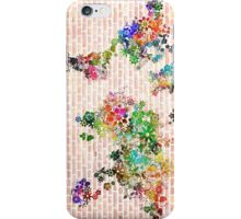 world map floral 1 iPhone Case/Skin