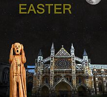 The Scream World Tour Westminster Abbey Happy Easter by Eric Kempson