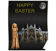 The Scream World Tour Westminster Abbey Happy Easter Poster