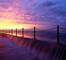 Mona Vale Ocean Pool, Sunrise by jphenfrey