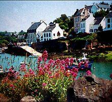 Doelan - Bretagne by Franz Roth